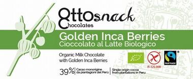 Cioccolato Ottosnack Latte con Inca Berry 100 grammi