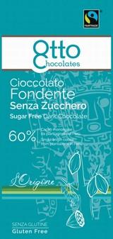 Cioccolato Fondente Senza Zucchero 100 grammi